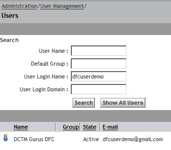 Create User using DFC | Karthik Sukumaran
