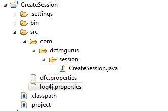 Create Session using DFC | Karthik Sukumaran
